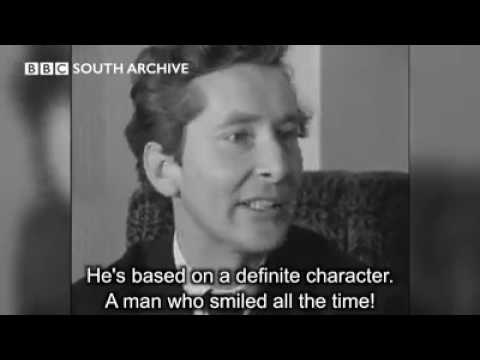 Kenneth Williams speaking in 1963 (BBC South archive)