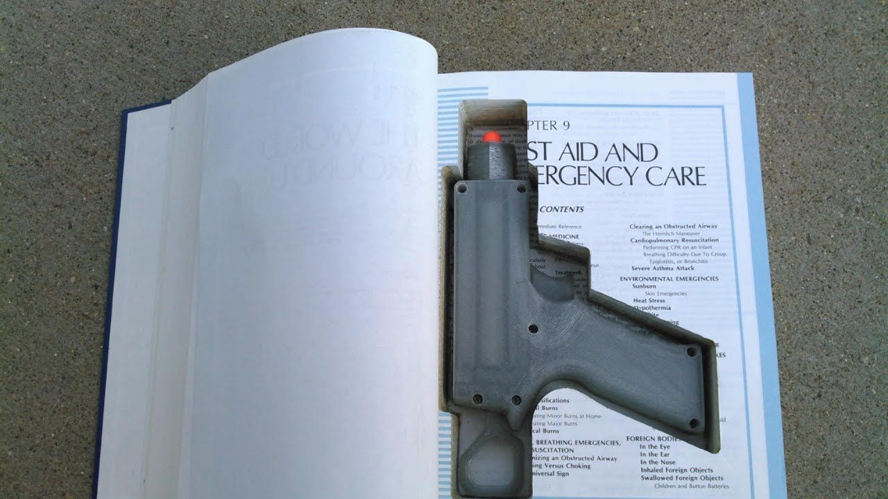 Hidden Gun Book - Year of Clean Water