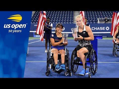 Womens Wheelchair Doubles Championship Point Thriller