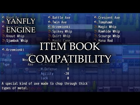 Item Book Compatibility - YouTube