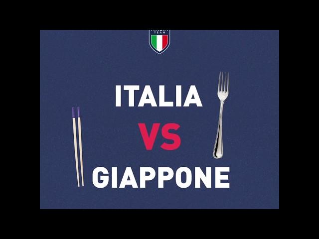 Italia Team: Challenge Italia vs Giappone.