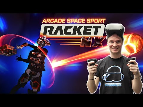 This is the best VR sports game! Even better on Quest! Racket: NX