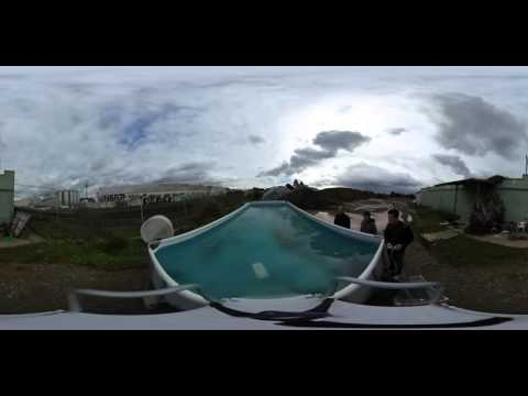 OpenROV Trident prototype test flight in 360