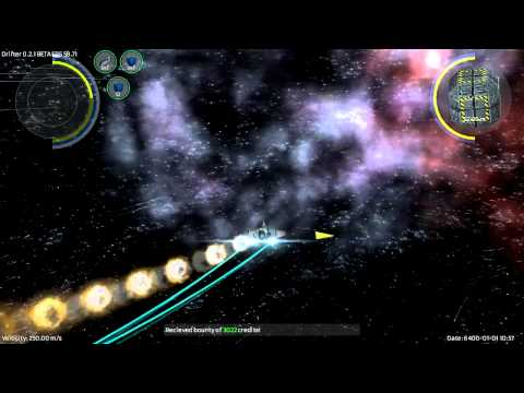 Drifter – 2.5D Space Combat & Trading Game – Alpha Version 0.21