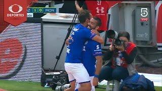 Gol de Cauteruccio | Cruz Azul 1 - 0 Monarcas | Clausura 2018 - Jornada 16 | Televisa Deportes