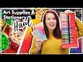 HUGE Art Supply & Stationery Haul From All Around The World!