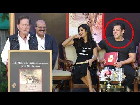 Salman Khan's Father Salim Khan's FUNNY Moments At Tiger Zinda Hai tions