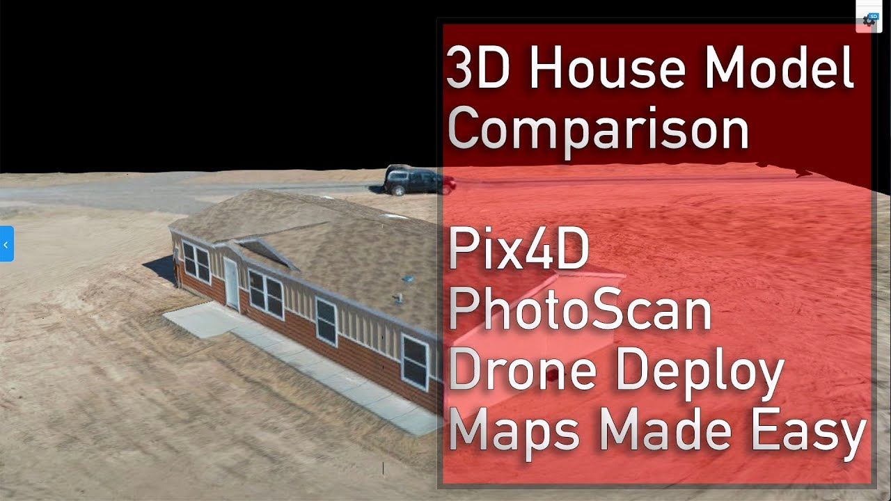 DJI Mavic 2 Pro Drone 3D Model - Pix4D, Drone Deploy, Maps Made Easy, &  Photoscan comparison