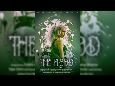 The Flood - Creative Movie Poster Design - Photoshop Tutorial