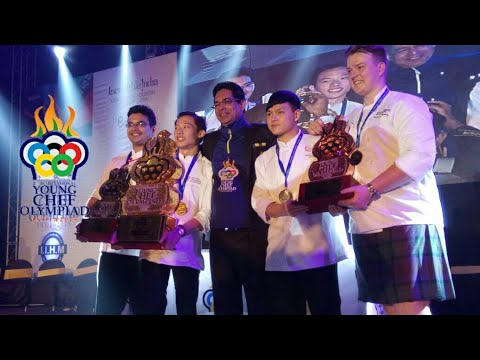 4th International Young Chef Olympiad 2018 ... ❤