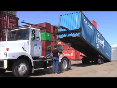 Container Mobility Canada - Rear-Lift Video