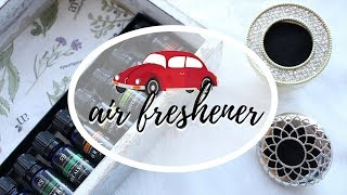 DIY Essential Oils Car Freshener