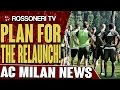 Plan For The Relaunch! | AC Milan News | Rossoneri TV