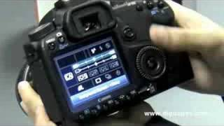 Canon EOS 50D First Impression Video by DigitalRev(The EOS 50D(http://bit.ly/Cano50D) is built around a 15 megapixels APS-C CMOS sensor and incorporates the latest DIGIC 4 processor to enable a wide ISO ..., 2008-09-23T08:24:02.000Z)