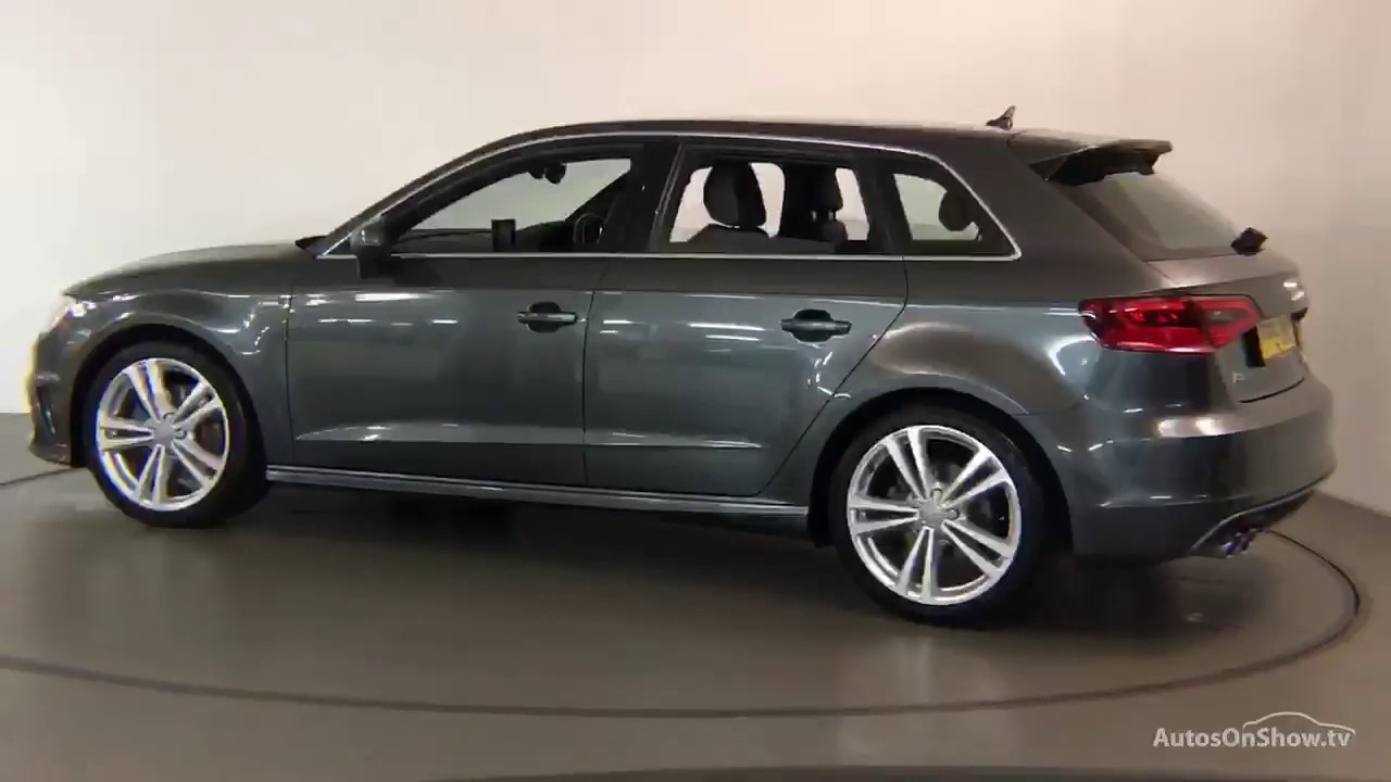 fp15owc audi a3 sportback tdi quattro s line grey 2015. Black Bedroom Furniture Sets. Home Design Ideas