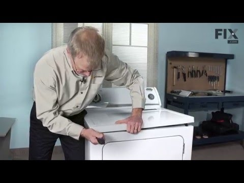 Whirlpool Dryer Repair – How To Replace The Door Switch - 3 Wire