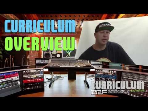 AUDIO ENGINEERING AND MUSIC PRODUCTION CURRICULUM OVERVIEW