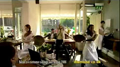 Diamond Car Insurance Café advertisement featuring Diamonds Are a Girls Best Friend