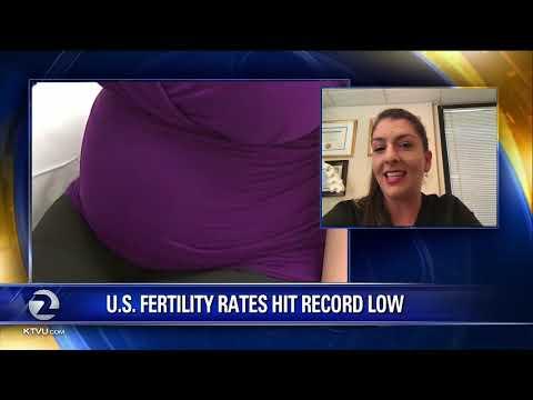 Fertility Rates Declining In The U.S.