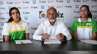 Şeyda Çopuroğlu & Simay Enginsu İmza Töreni - Ekiz Yumurta Foça Basketbol Kulübü