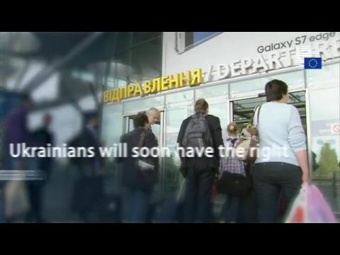 EU grants Ukraine visa-free travel