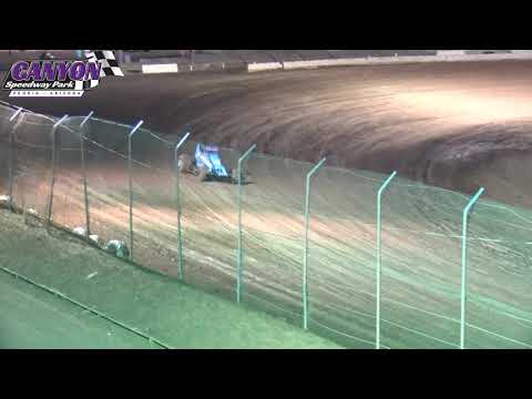 Canyon Speedway  USAC Southwest Sprint Car Qualifying June 8 2019