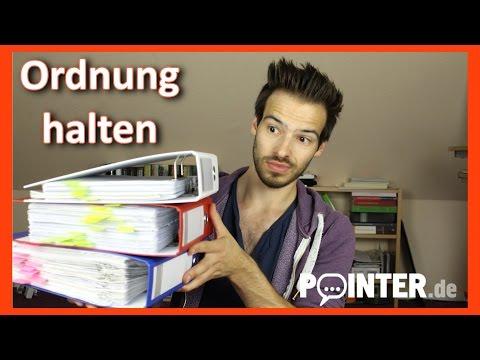 Patrick vloggt - Ordnung halten im Studium