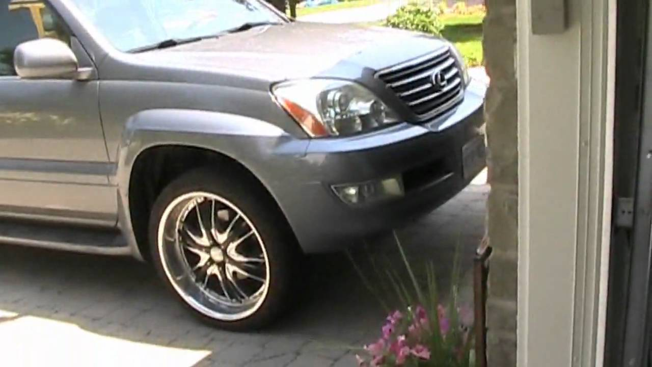 Quick Start Up And Tour Of A 2005 Lexus Gx470 On 22 S