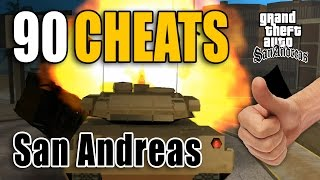 GTA San Andreas Cheats (90) [PC]