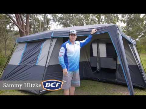 Wanderer Homestead 12 Person Tent - BCF & Wanderer Homestead 12 Person Tent - BCF - YouTube