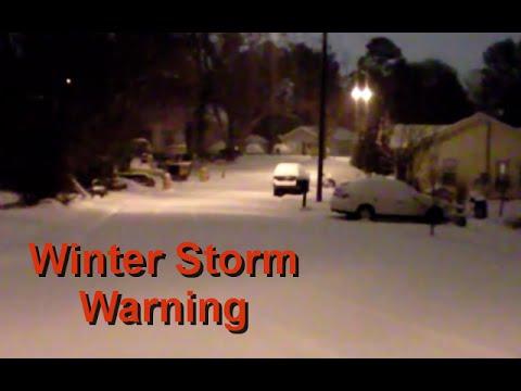 2011 Winter Storm Warning