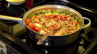 Spanish Rice Bake