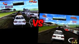 ToCA 2 Touring Cars: PlayStation VS PC