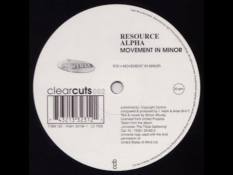 Resource Alpha - Movement In Minor (Hardtrance 1995)