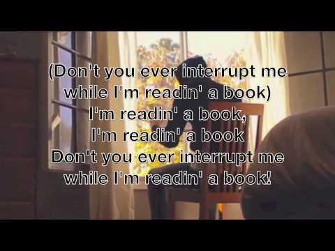 I'm Readin' a Book :: Julian Smith :: Lyrics On Screen