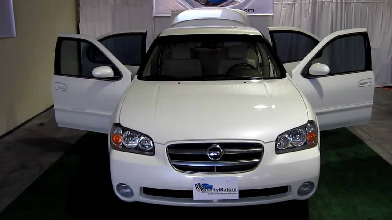 2002 Nissan Maxima 3 5se Beauty Equalitymotors Las