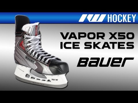 1ac3433cb30 Bauer Vapor X50 Ice Hockey Skate Review - YouTube