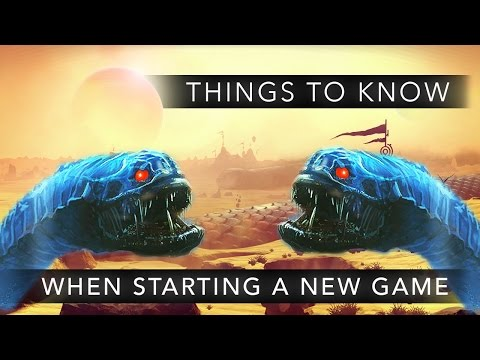 No Man's Sky: 10 Things To Know When Starting a New Game