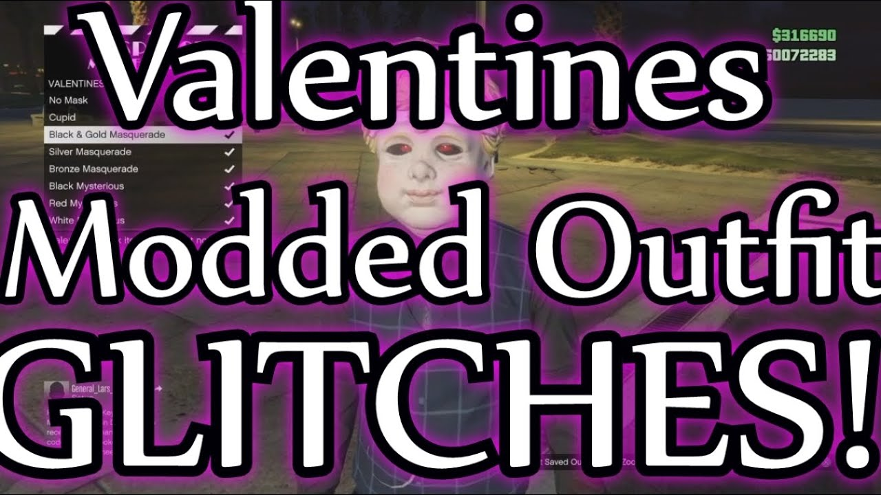 GTA 5 Valentines Modded Outfit Glitch 1 32! *NEW* ''HOW TO GET A MODDED  OUTFIT GLITCH'' (No Mods!)