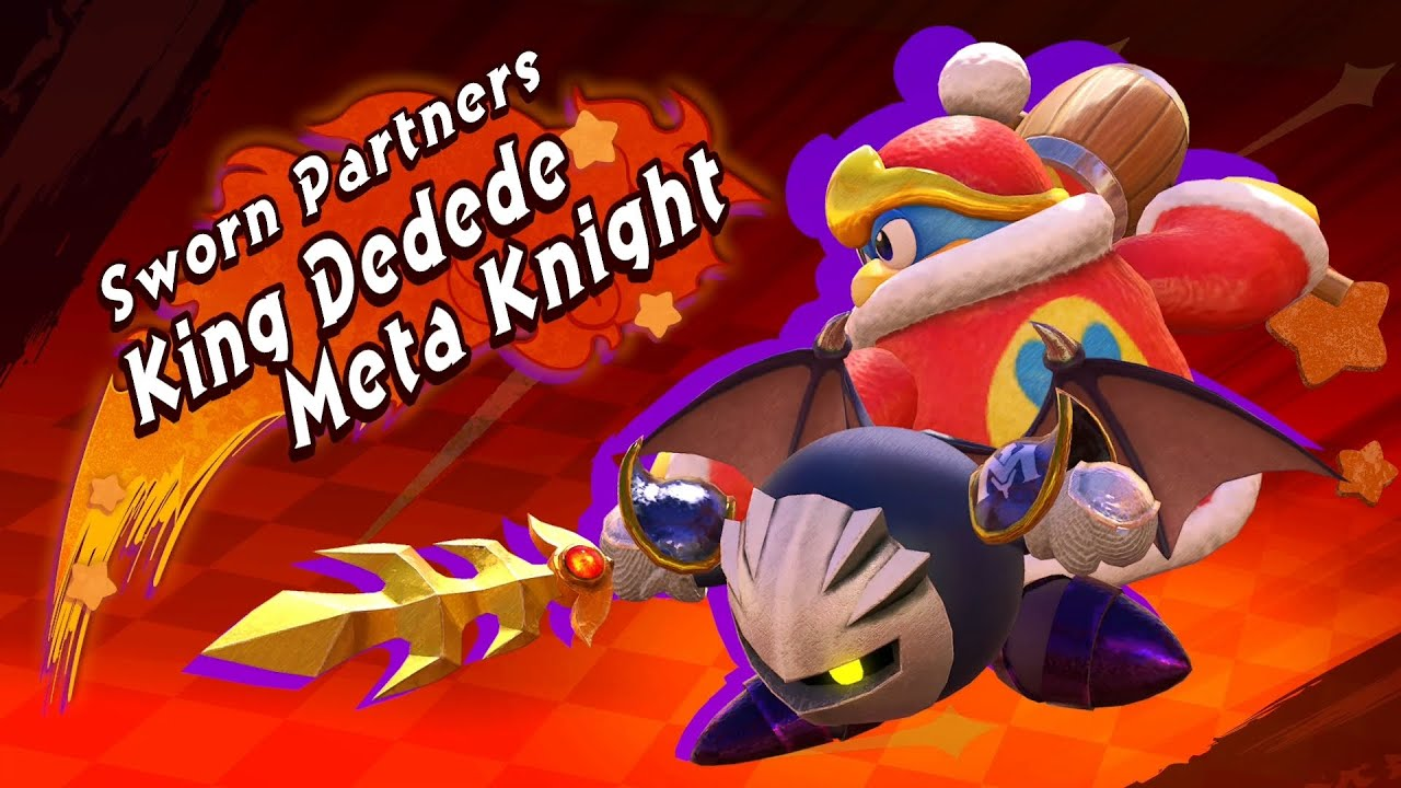 Kirby Fighters 2 - King Dedede and Meta Knight Boss Fight