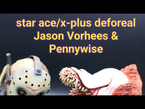Star Ace/x-plus Deforeal Jason & Pennywise