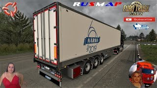 Euro Truck Simulator 2 (1.37)   Närko Ownable Trailers v1.0 by Kast DAF XF105 by SCS Software RusMap 2.1 [1.37.x] by Aldimator FMOD ON and Open Windows Naturalux Graphics and Weather Spring Graphics/Weather v3.5 (1.37) by Grimes + DLC's & Mods https://for