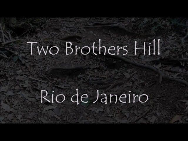 Hiking the Twin Brothers Hill in Rio de Janeiro