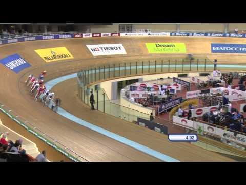Men's Omnium -- Elimination Race -- 2013 UCI World Track Championships