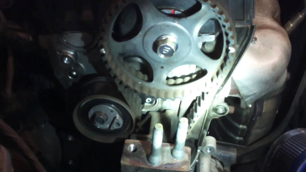 Timing Belt Water Pump Replacement 2007 2010 Hyundai Elantra 2 0l Install Remove Replace Youtube