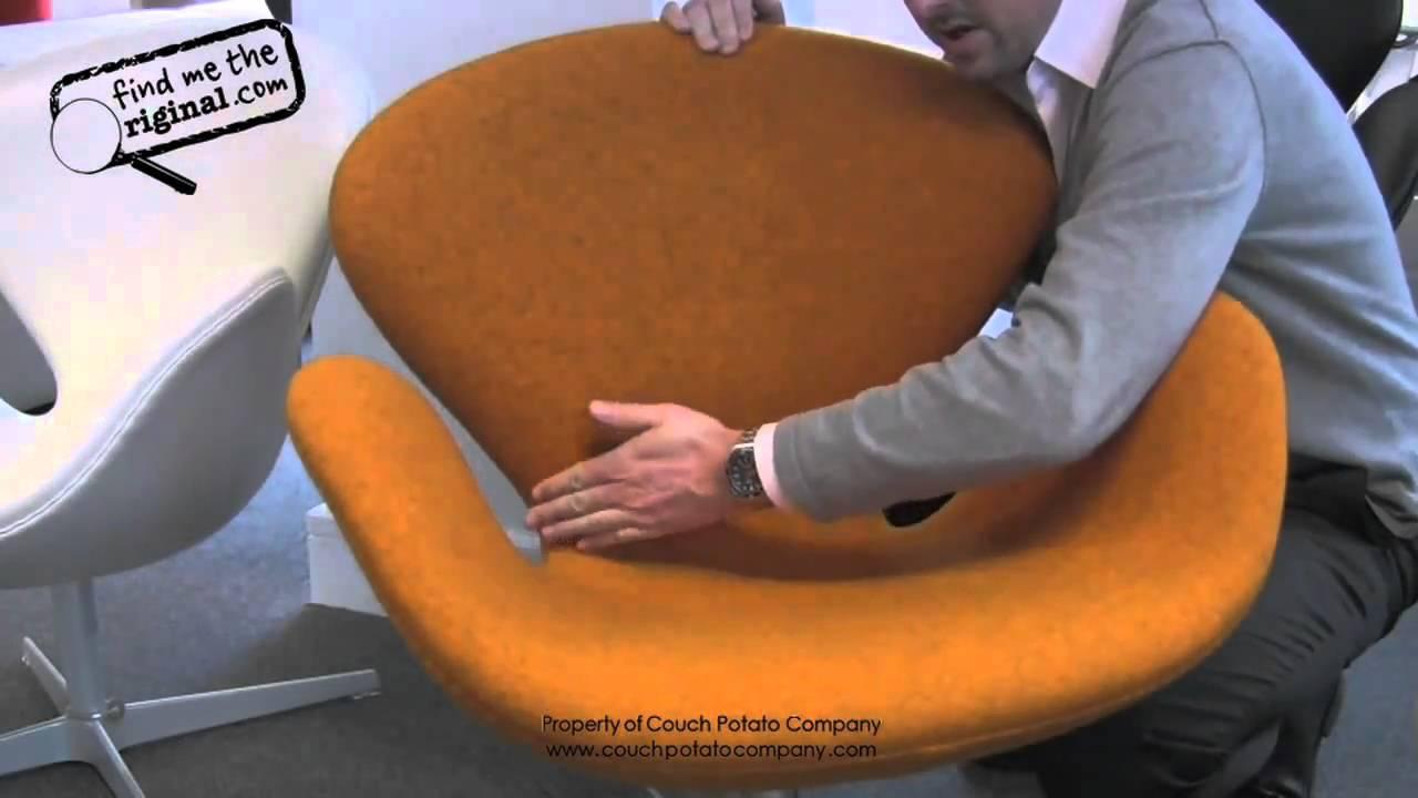 Fritz Hansen Egg And Swan Chair Europadesign Youtube