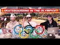 SKATEBOARDING IN THE OLYMPICS??