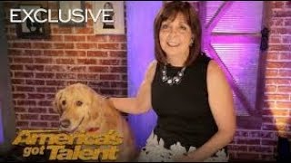 Oscar And Pam Bring AGT Their First Singing Dog   America's Got Talent 2018