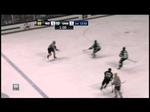 Irish Earn Split With North Dakota - Hockey