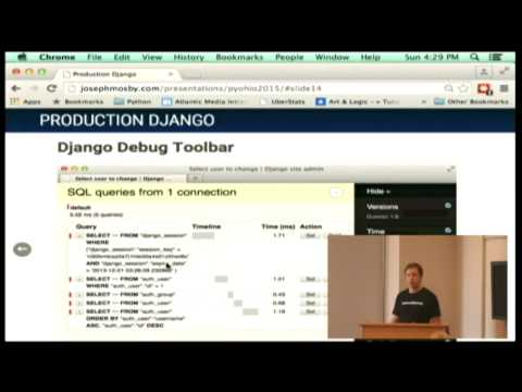 Production Django: Building a Highly Scalable, Secure Django Site